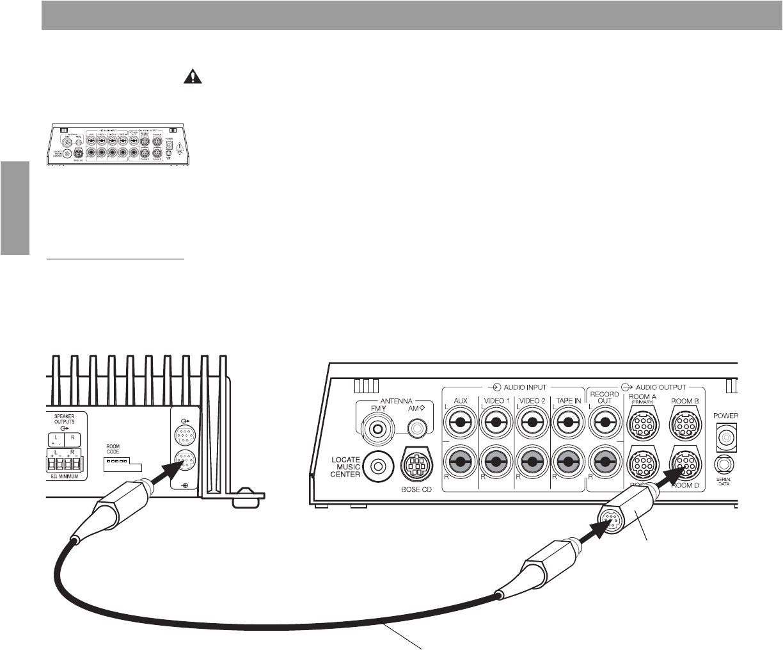 Bose Acoustimass 25 Series Ii Wiring Diagram Bedienungsanleitung Bose Lifestyle Sa 2 Seite 16 Von 30