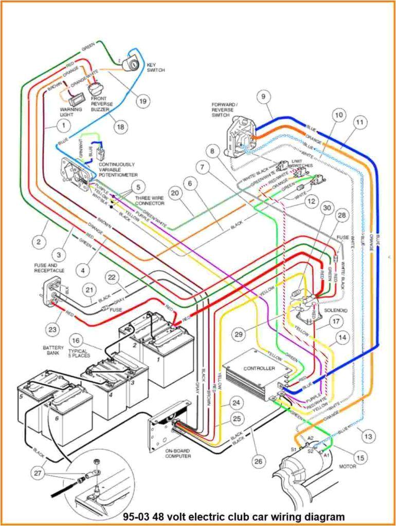 Club Car Ds 48 Volt Battery Wiring Diagram Don Patton Nodnottap On Pinterest