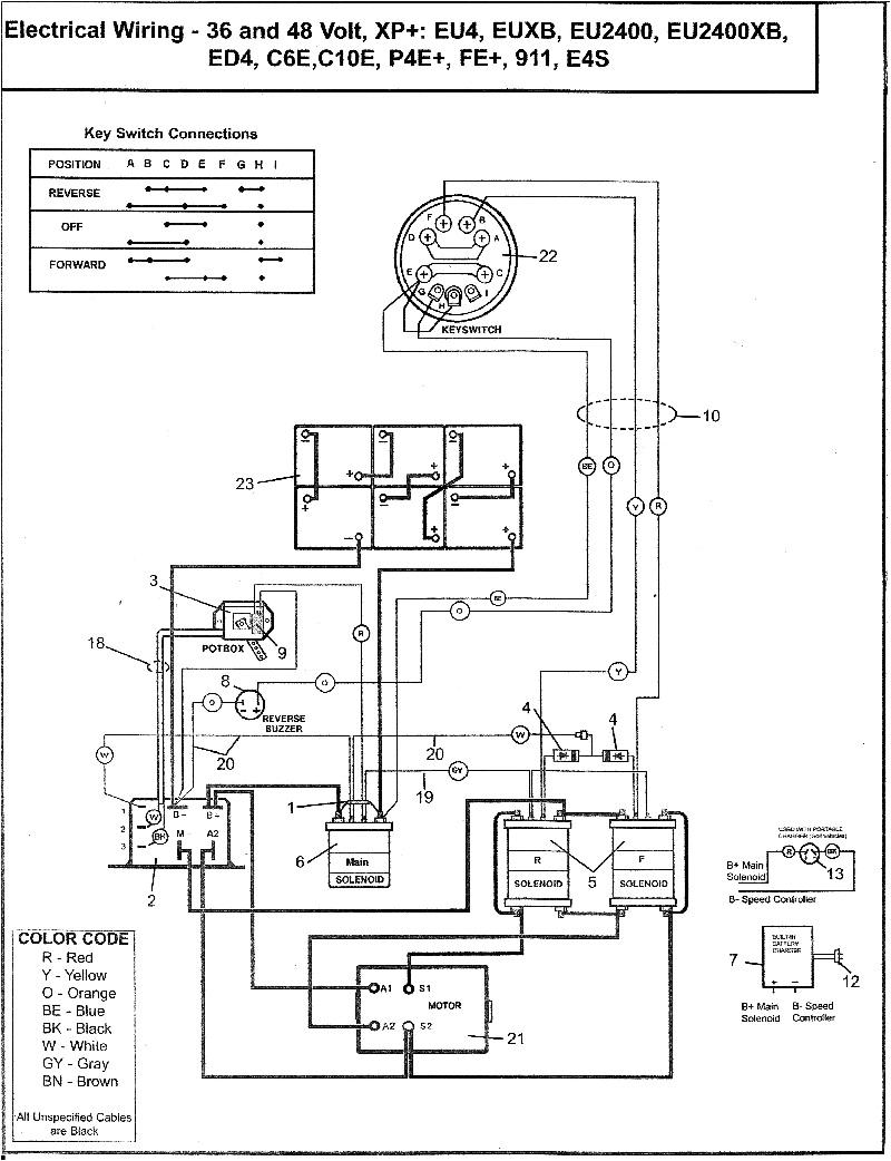Columbia Gas Golf Cart Wiring Diagram 158 Ez Go Golf Cart 48v Wiring Diagram Wiring Library