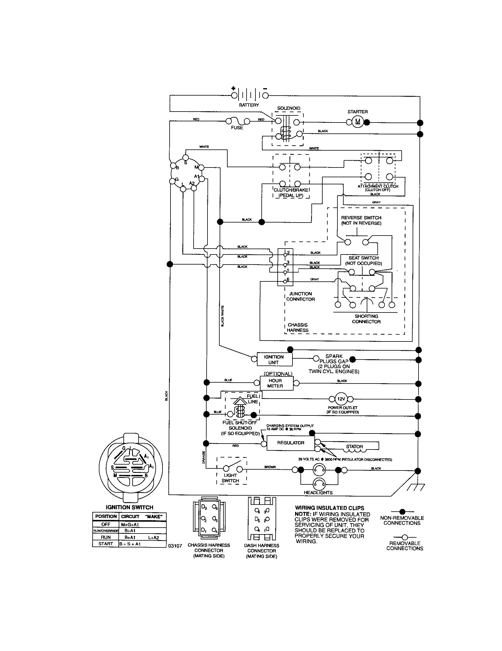 craftsman starter wiring diagram diagram data schema png