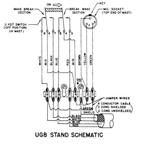 heil hc51 retro fit kit astatic d d104 microphone autowiring mx tl jpg