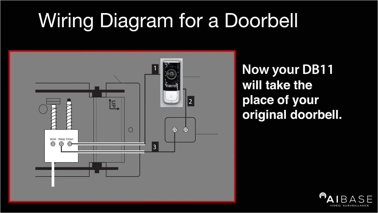 Dahua 2 Wire Intercom Wiring Diagram Aibase Db A1 Db11 Doorbell Installation and App Configuration Tutorial