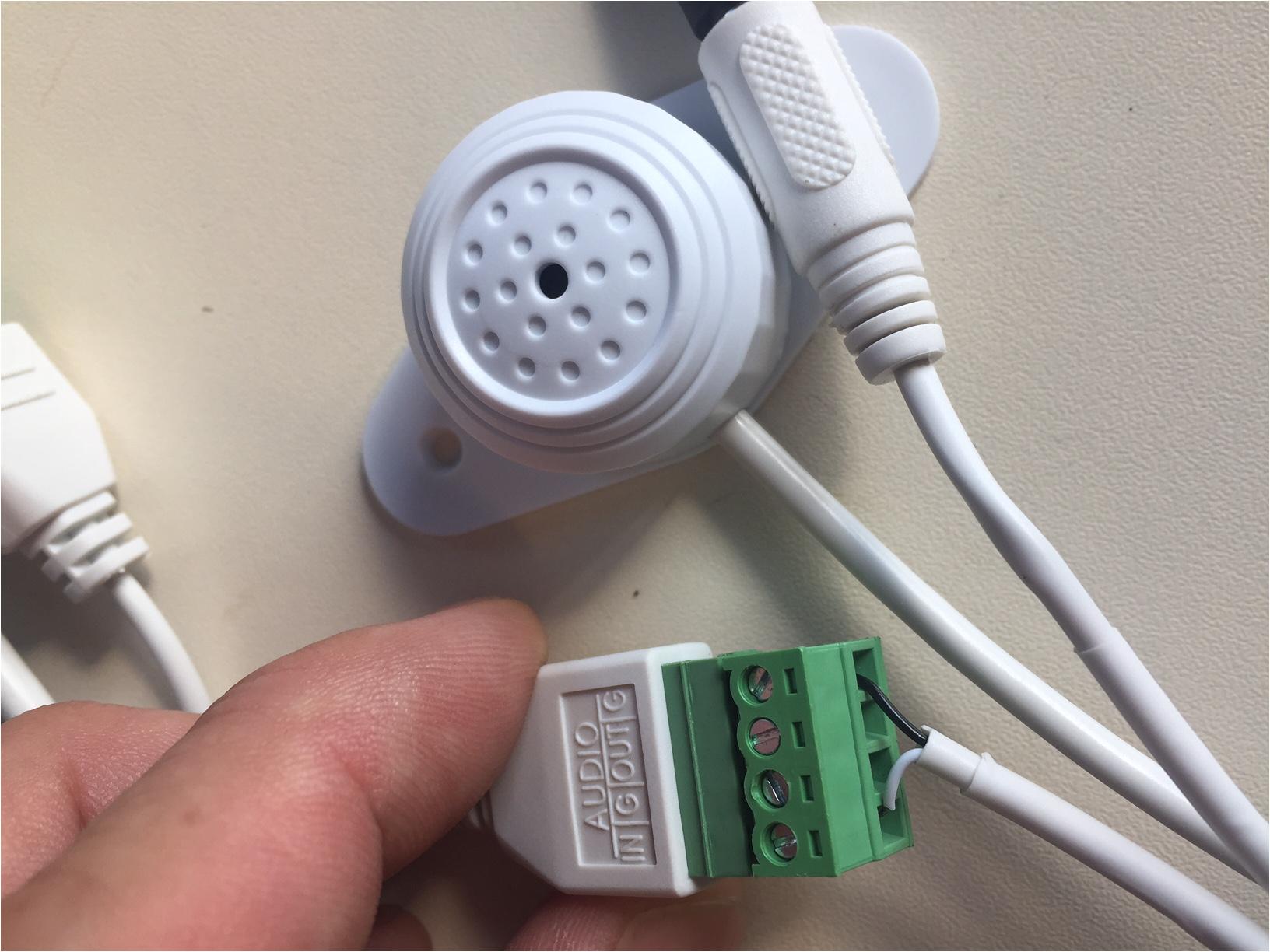Dahua Ip Camera Wiring Diagram Mikrofon Dient Ip Kamera Hallo Empfindlich