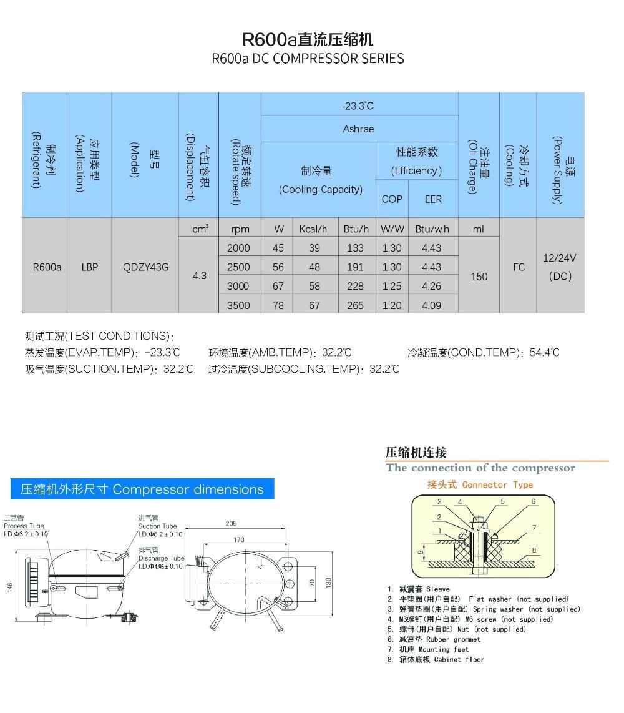 Danfoss Bd35f Compressor Wiring Diagram R600a Bldc 12v Compressor for Mobile Cooling System Car