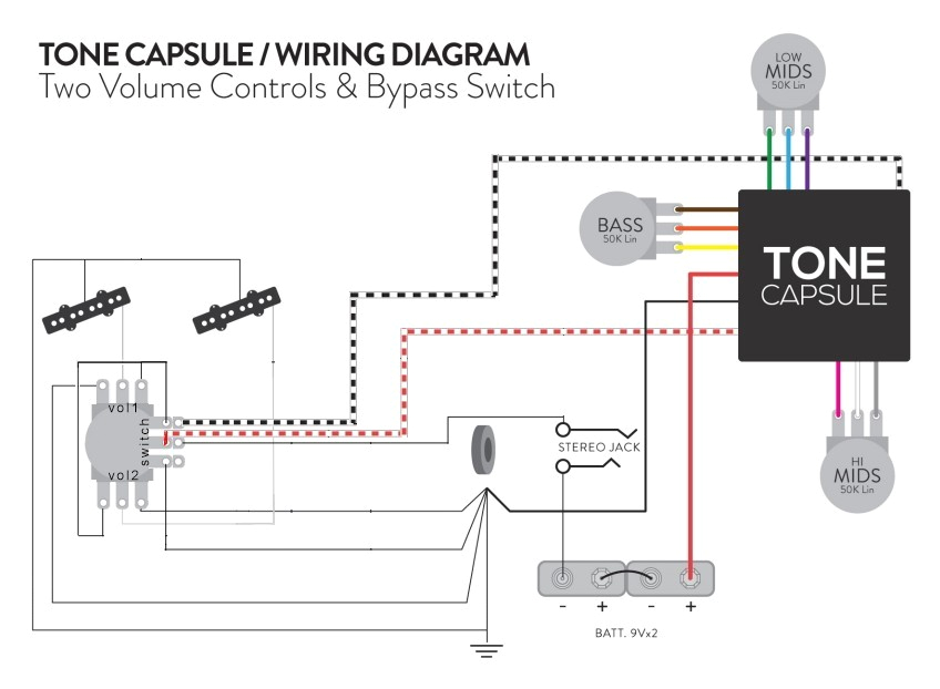 Darkglass tone Capsule Wiring Diagram Darkglass tone Capsule I Jazz Bass