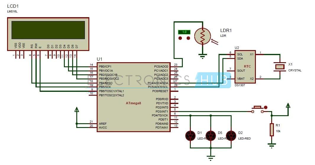 street lights that glow on vehicle movement circuit diagram jpg