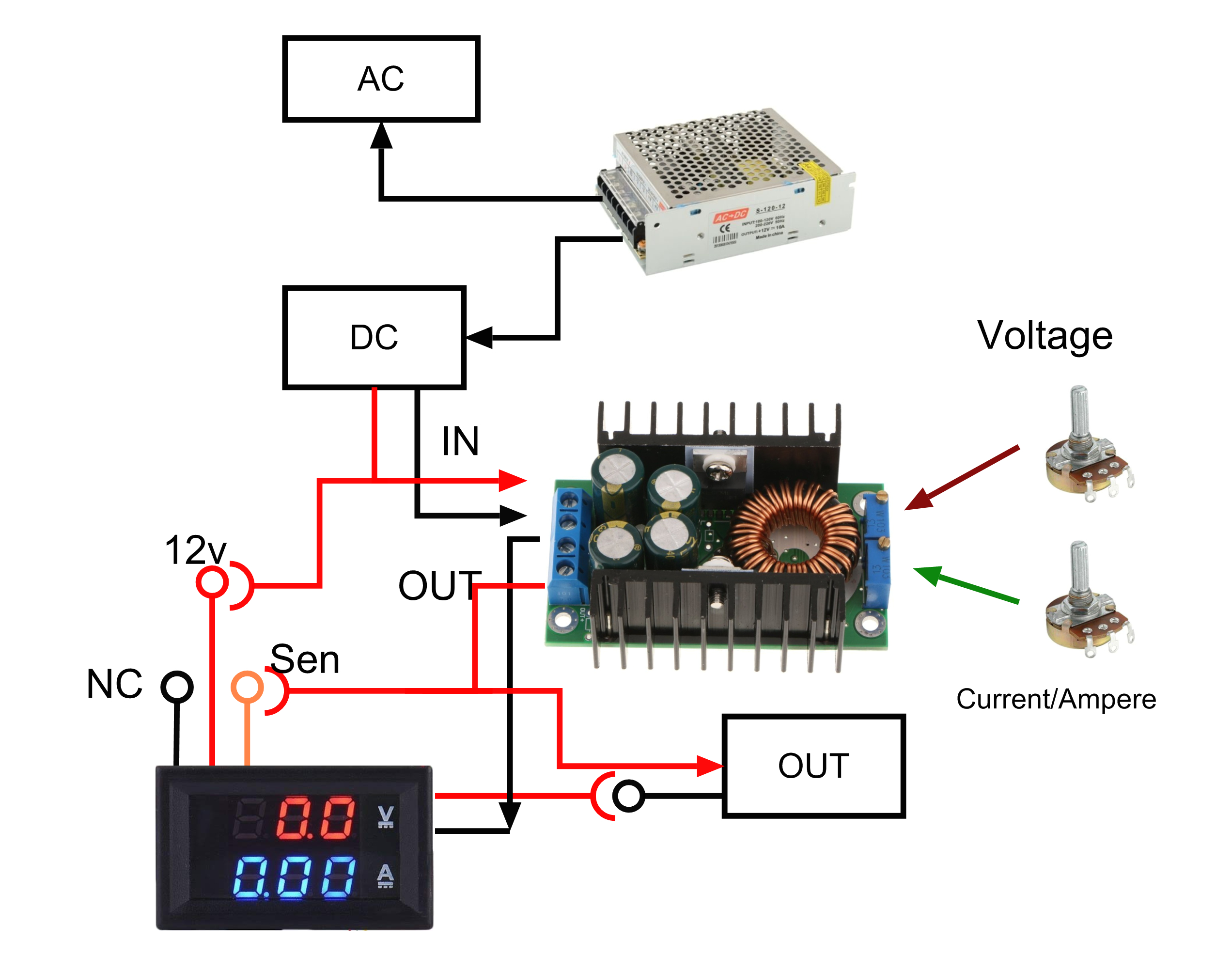 bench power supply png