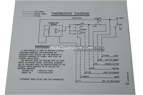 3106995032 dometic analog rv thermostat hvacpartstore jpg