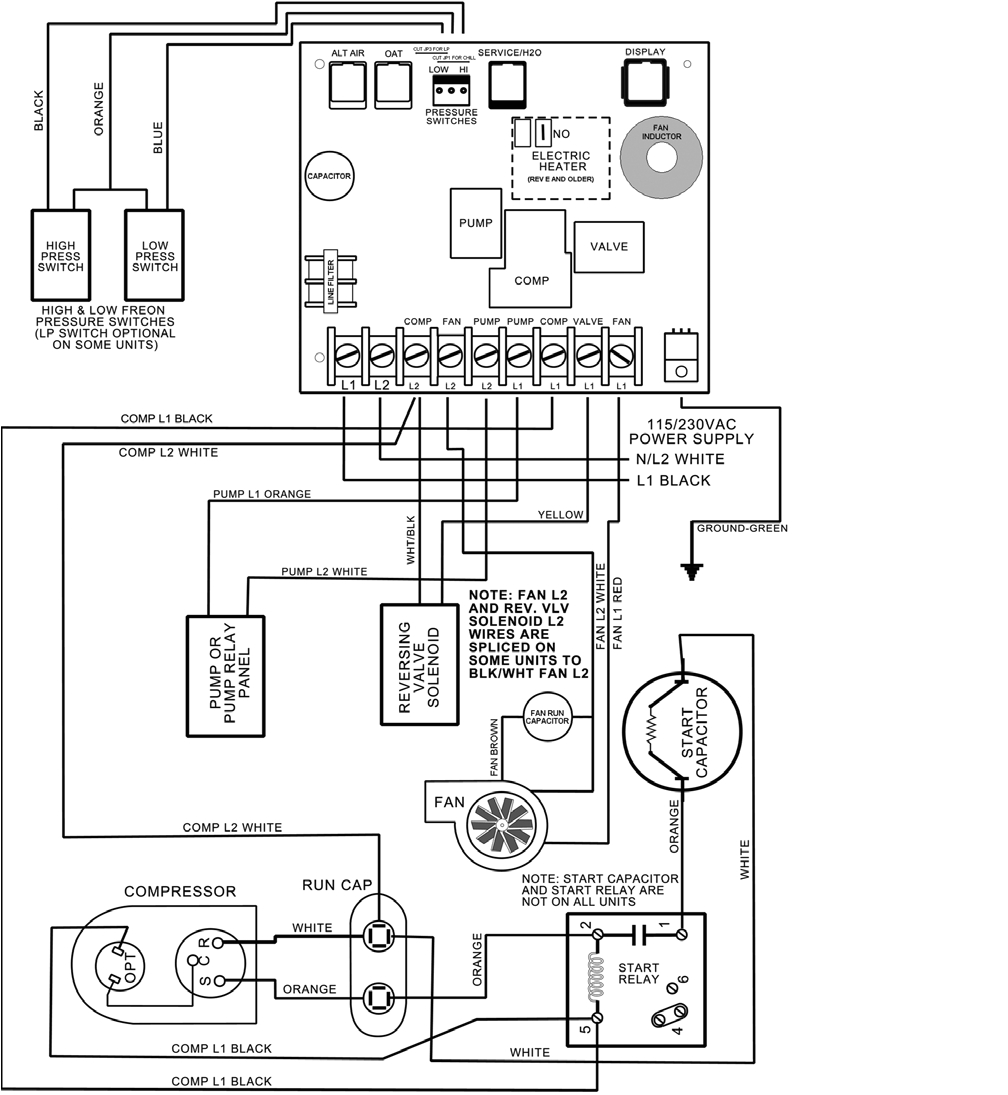 Dometic Rooftop Ac Wiring Diagram 2b6 Rv Wiring Diagram Ac Dc Wiring Library