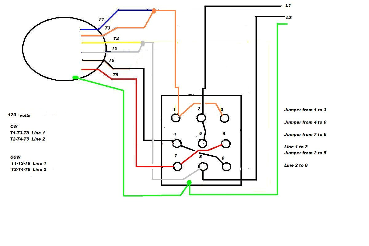 Electric Motor Reversing Switch Wiring Diagram Marathon Electric Motor Wiring Schematic In Motors Diagram