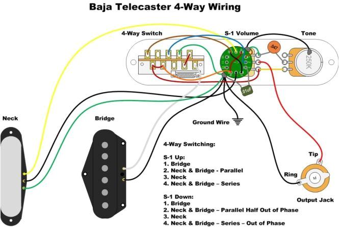Fender Telecaster S1 Wiring Diagram Fender Baja Telecaster Wiring Diagram Reverse Wiring