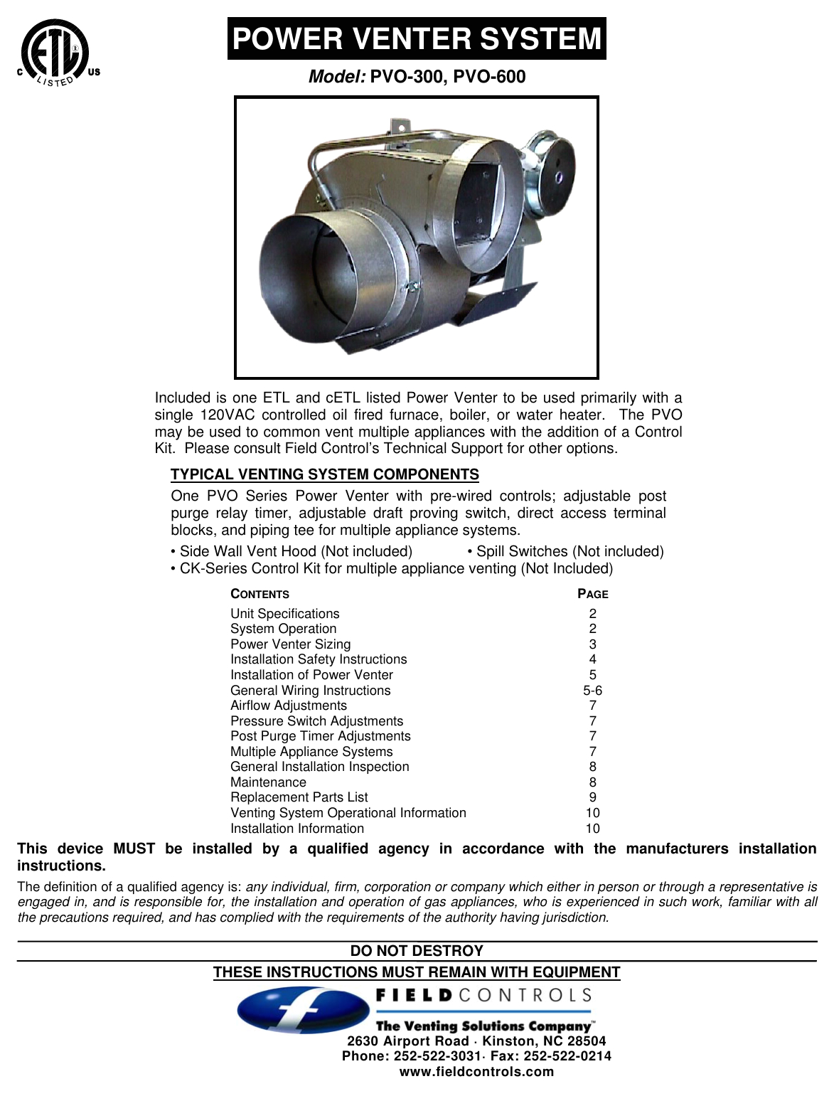 fieldcontrolspvo600usersmanual427562 614804742 user guide page 1 png