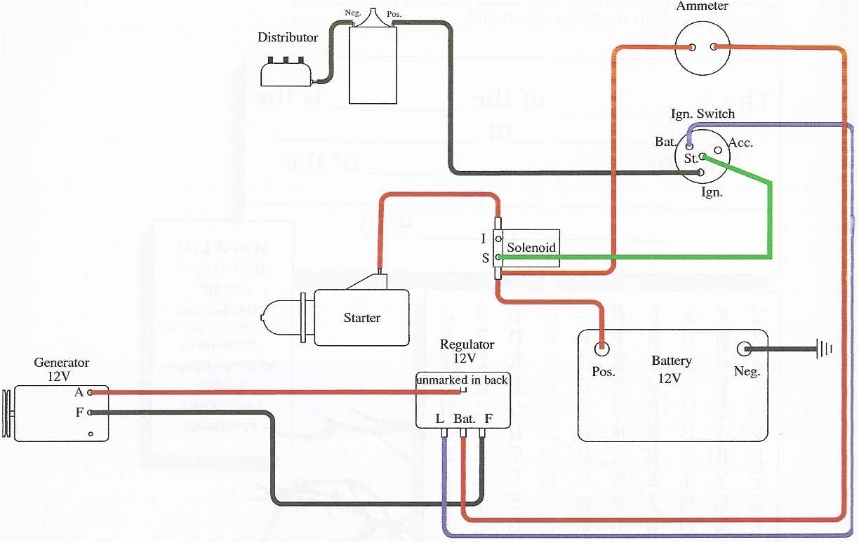 Ford 8n 6v Wiring Diagram 6b9 6 Volt Coil Wiring Diagram Delco Distributer Wiring