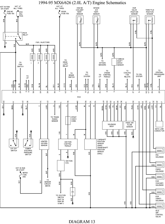 Ford Probe Radio Wiring Diagram Wire Diagram 95 ford Probe Se Online Wiring Diagram
