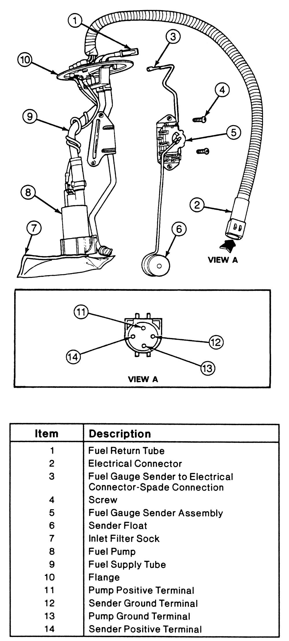 Ford Ranger Fuel Pump Wiring Diagram Wrg 1907 ford Ranger Fuel Gauge Wiring Diagram
