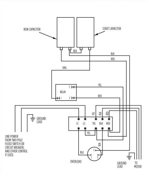 Franklin Electric Motor Wiring Diagram 12 Franklin Electric Motor Wiring Diagram Wiring Diagram