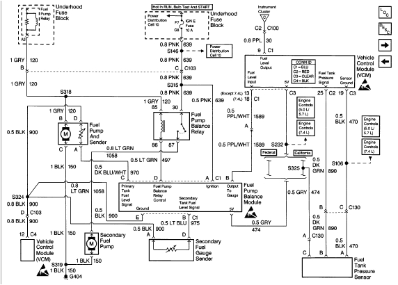 Fuel Sender Fuel Gauge Wiring Diagram 1999 Chevy 3500 W 7 4 Litr Gas Guage Does Not Work Replacd