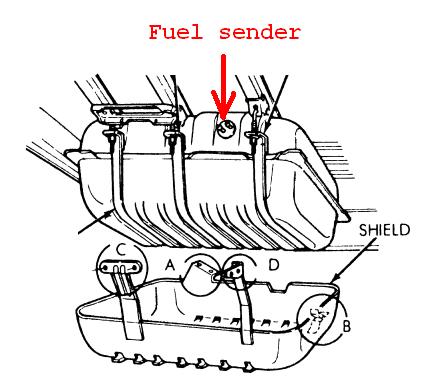 1984 grand wagoneer fuel sending unit png