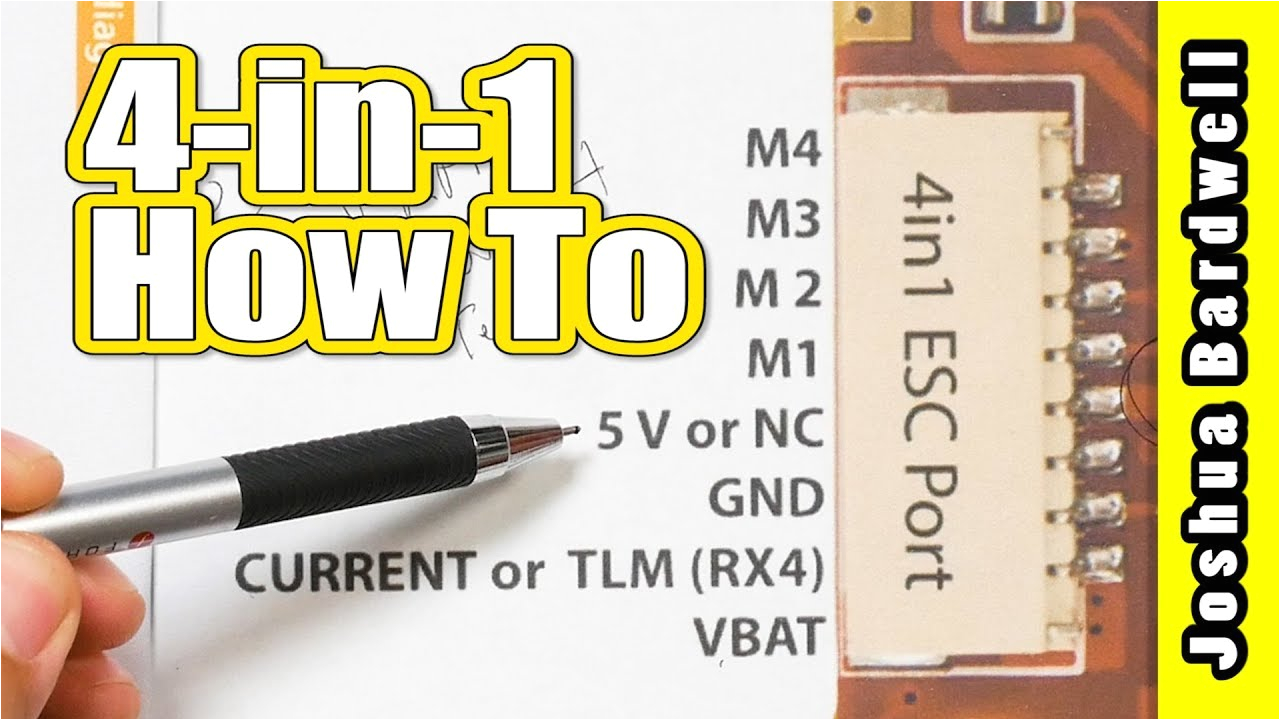 Fxc Switch Panel Wiring Diagram How to Connect A 4 In 1 Esc to Fc Heliospring Dalrc Engine