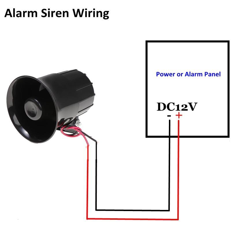 Hardwired Smoke Detector Wiring Diagram Home Security Siren Wiring Blog Wiring Diagram