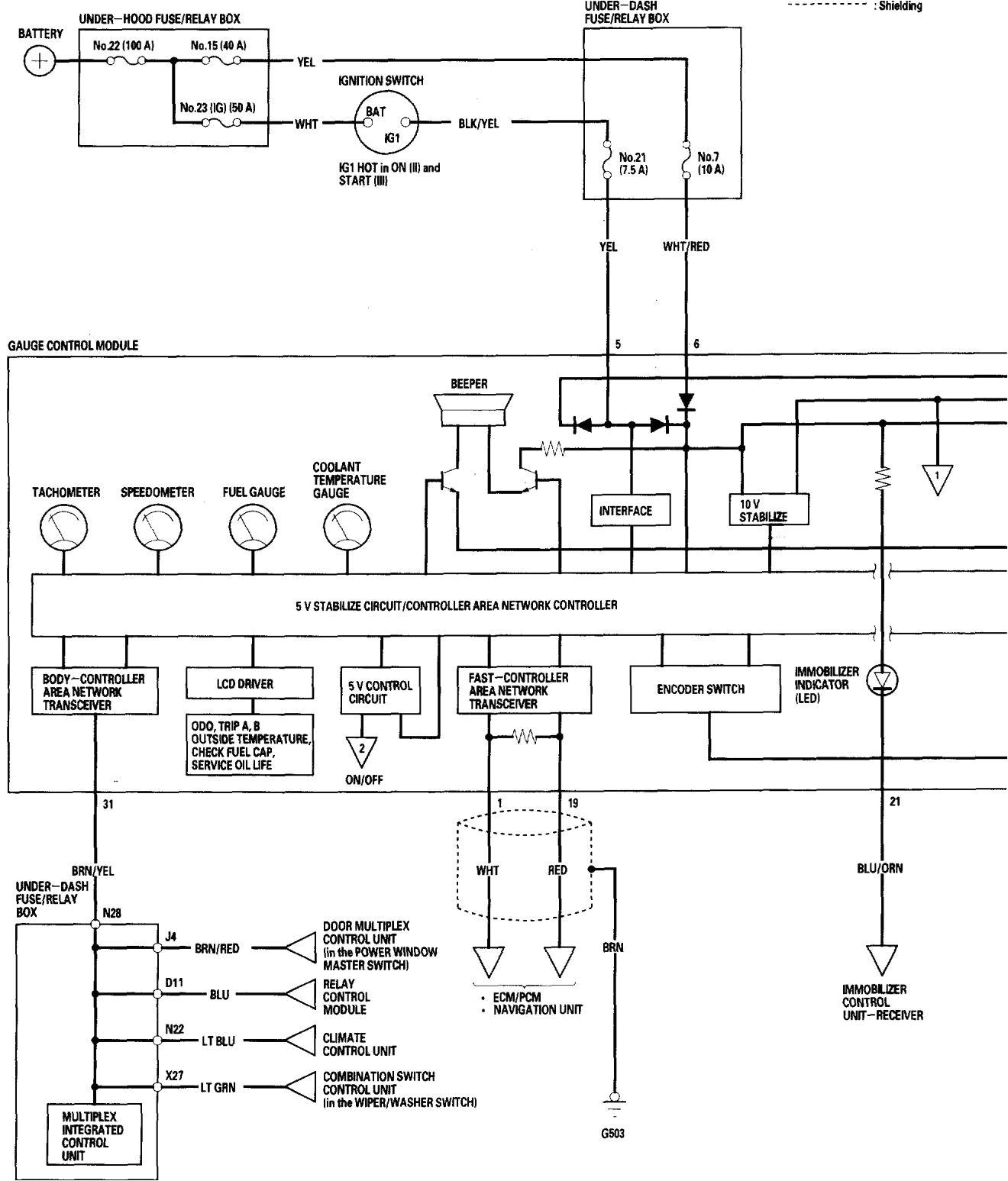 honda accord wiring diagram instrumentation 1 2006 jpg