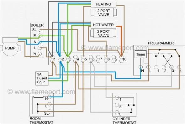 honeywell 3 port valve wiring diagram diagram heating systems jpg