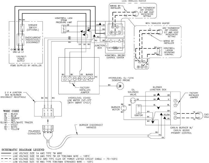 Honeywell Burner Control Wiring Diagram Oil Wiring Diagram Blog Wiring Diagram