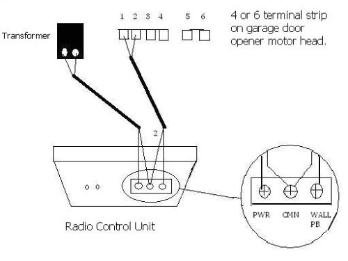 How to Wire A Genie Garage Door Opener Diagram Al 7428 Genie Intellicode Wiring Diagrams Schematic Wiring