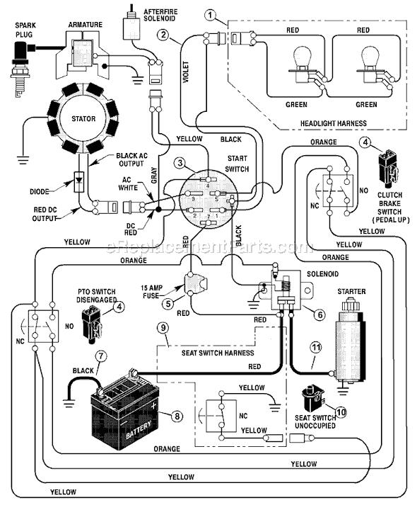 bolens tractor wiring diagrams basic electronics wiring diagram gif