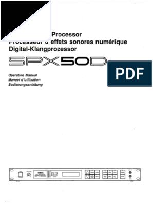 Iota Dls 55 Wiring Diagram Yamaha Spx 50 D Operation Manual Pdf