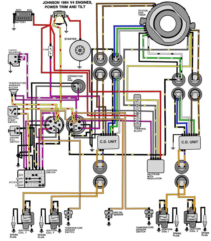evinrude johnson outboard wiring diagrams mastertech marine jpg