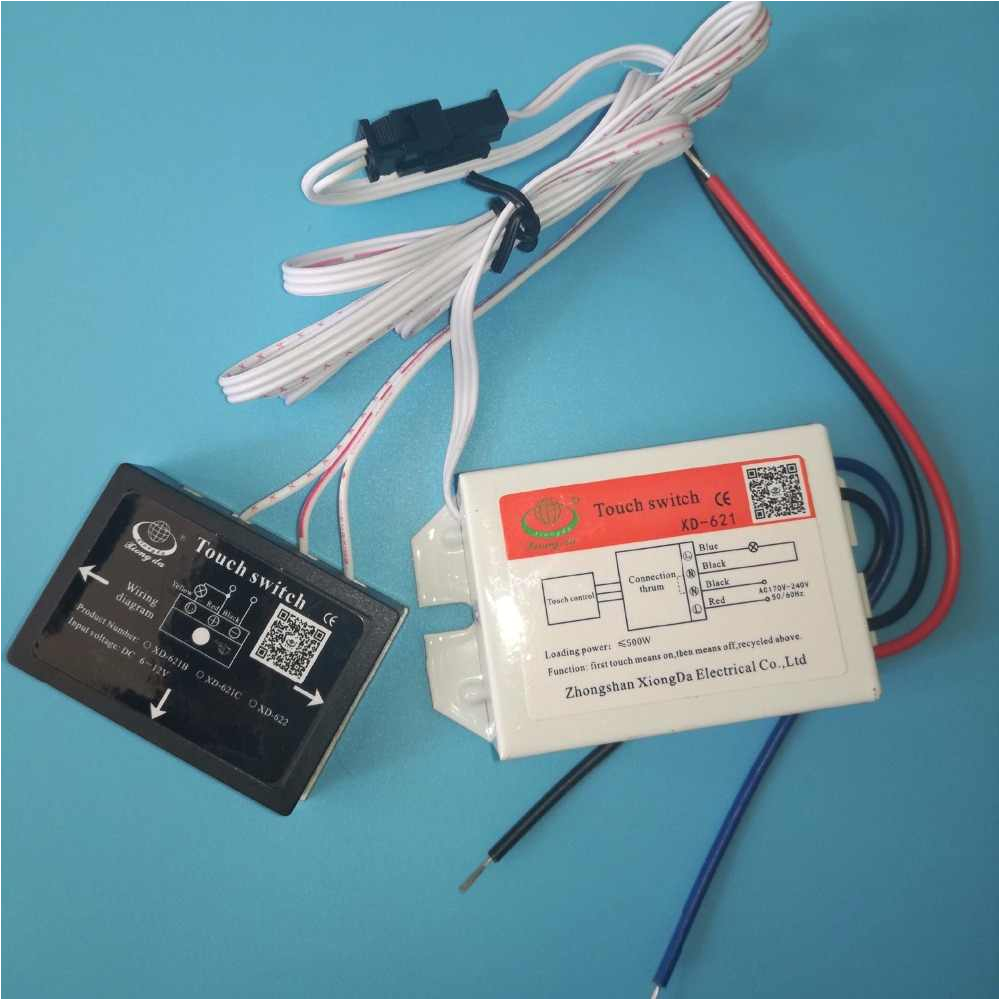 Kedu Hy56 Switch Wiring Diagram 170 240v On Off touch Switch for Mirror Lamp Lighting