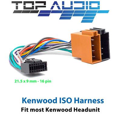 kenwood iso wiring harness kdc u263r kdc u363 kdc u563bt jpg