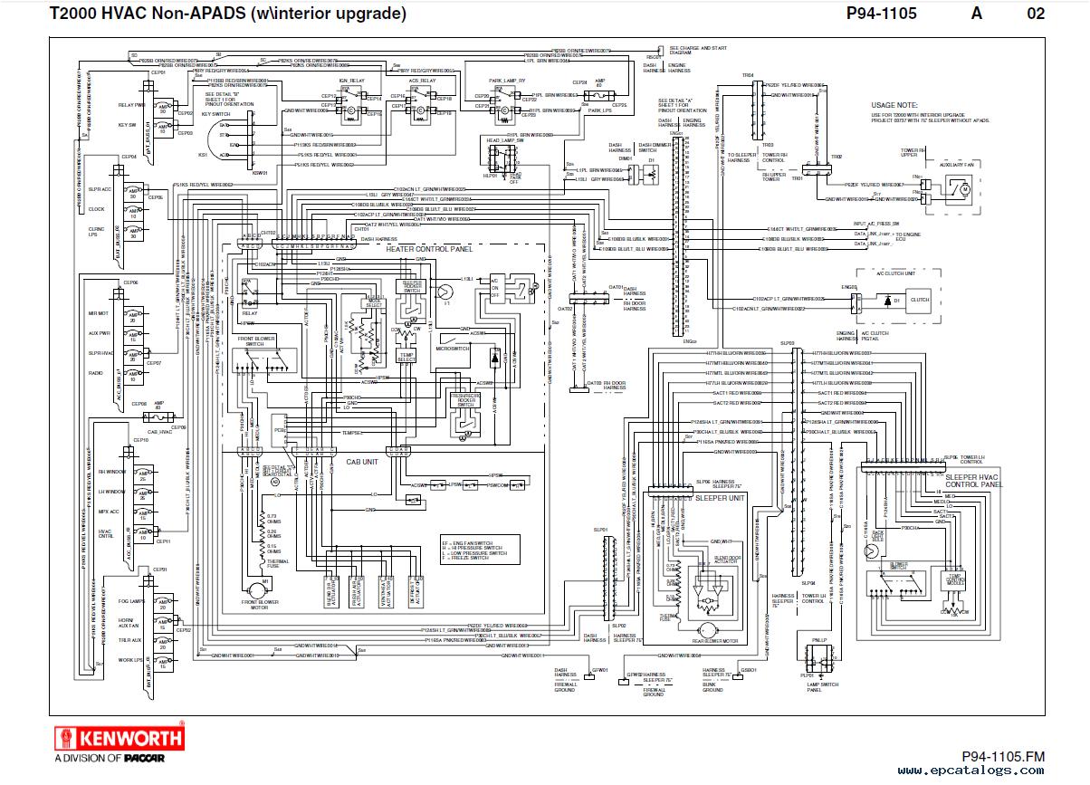 Kenworth Engine Fan Wiring Diagram Kenworth Wiring Diagram Pro Wiring Diagram