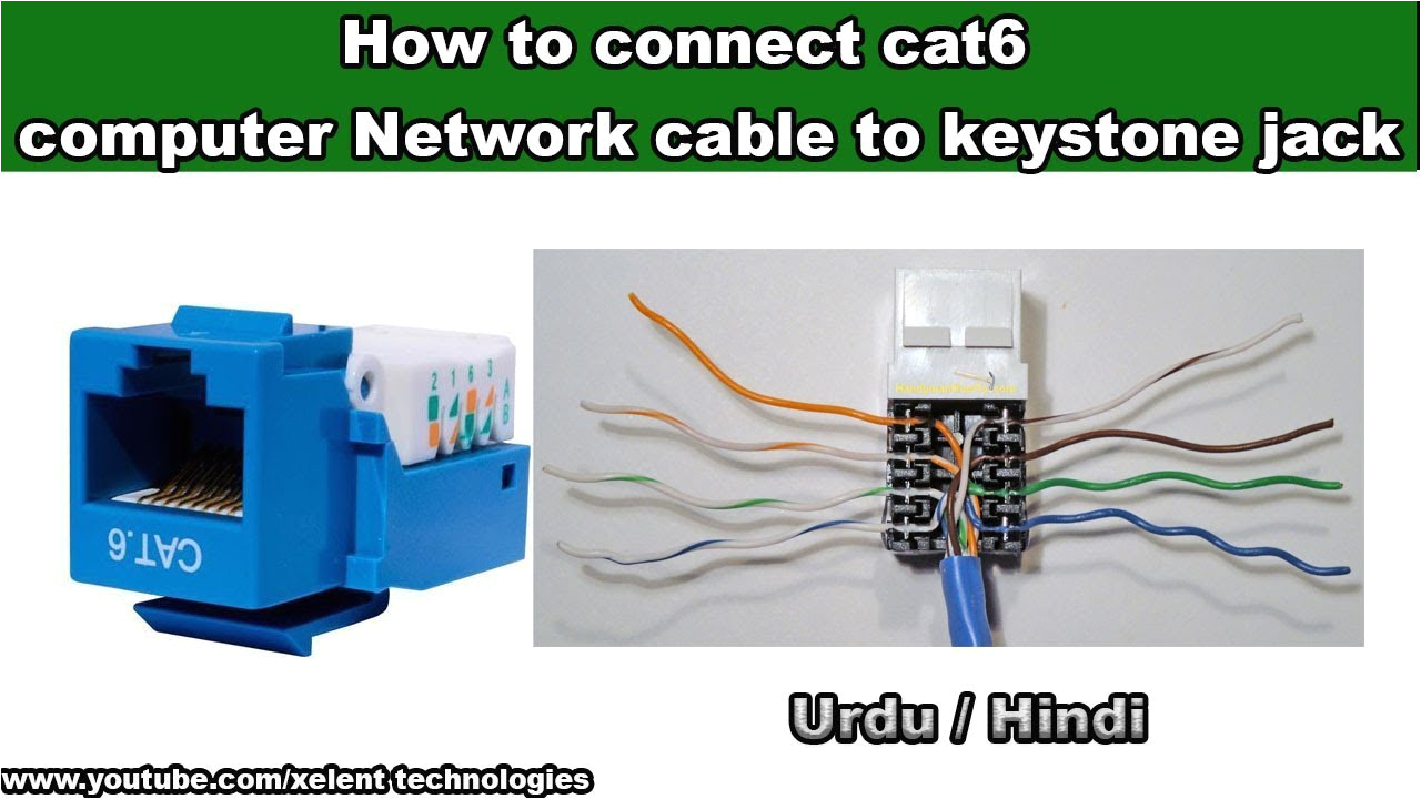 Keystone Jack Cat6 Wiring Diagram Cat6 Jack Wiring Pro Wiring Diagram