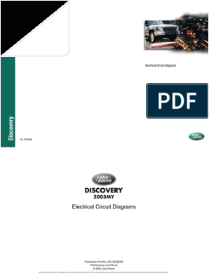 Land Rover Discovery 2 Electrical Wiring Diagram Landrover Discovery 2 Wiring Diagram Electrical Connector