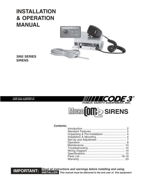 microcom 2 siren install guide code 3 public safety equipment jpg