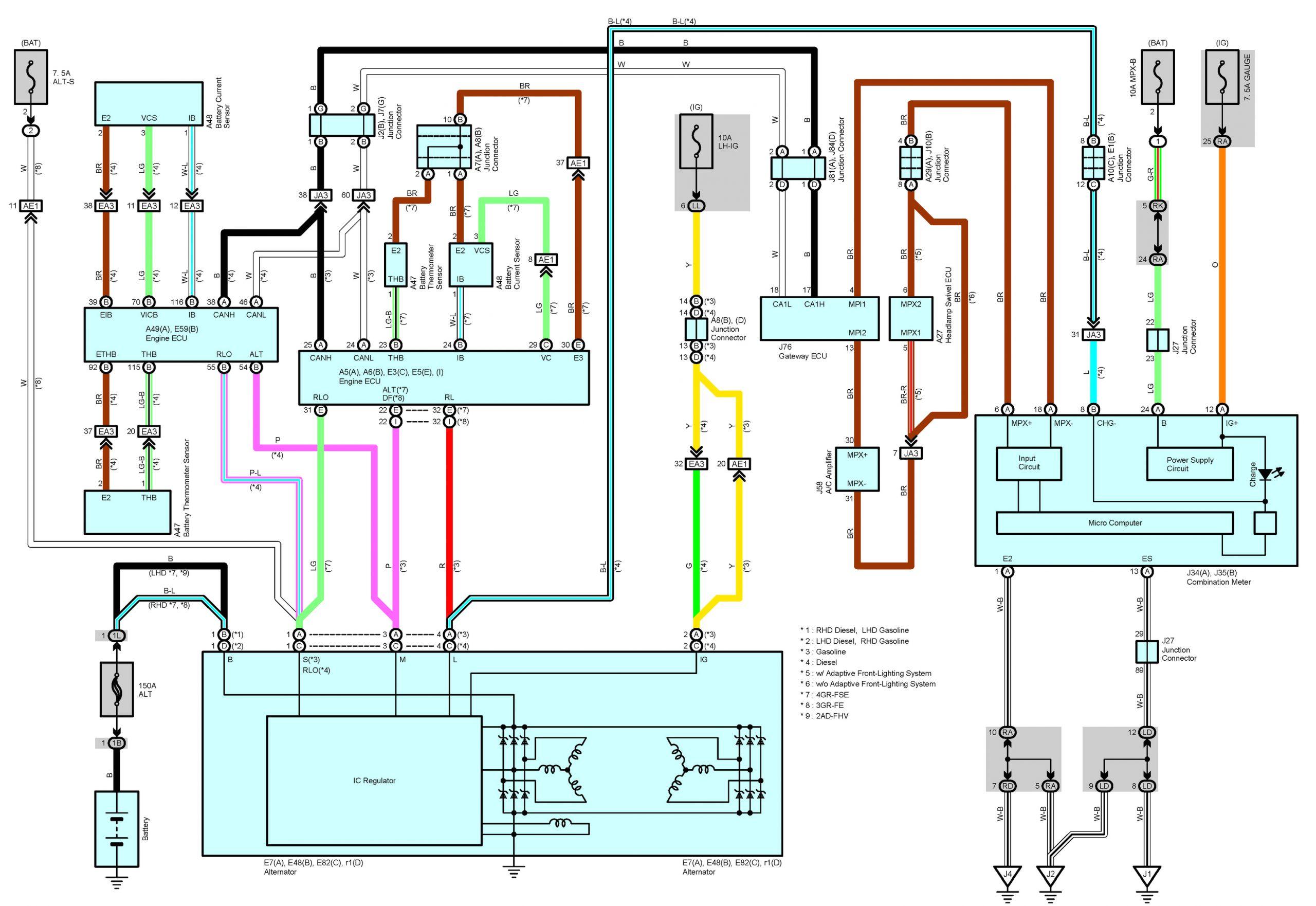 Lexus is 250 Wiring Diagram Fba5 2007 Lexus is 250 Wiring Diagram Wiring Resources