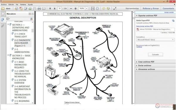 Md3060 Allison Transmission Wiring Diagram Yg 8610 Allison Wtec 3 Transmission Wiring Diagram Free