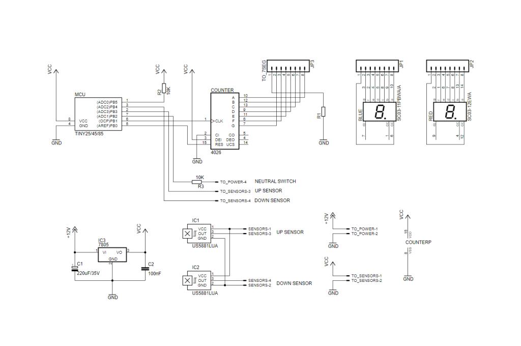 Motorcycle Led Indicator Resistor Wiring Diagram Motorcycle Universal Gear Indicator Electronics Lab