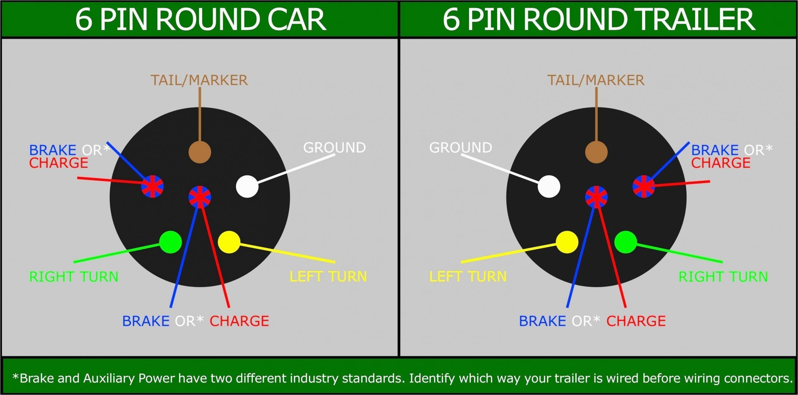 Round Plug Trailer Wiring Diagram 7 Wire Trailer Plug Wiring Diagram Untpikapps