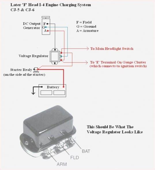 Starter Generator Voltage Regulator Wiring Diagram Echlin Voltage Regulator Wiring Diagram Main Fuse6