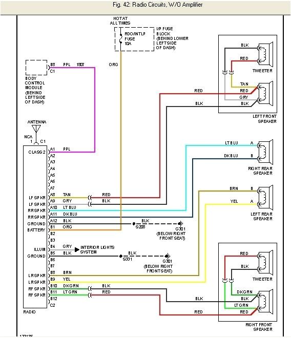 2003 Silverado Radio Wiring Diagram 2003 Chevy Silverado Radio Wiring Diagram