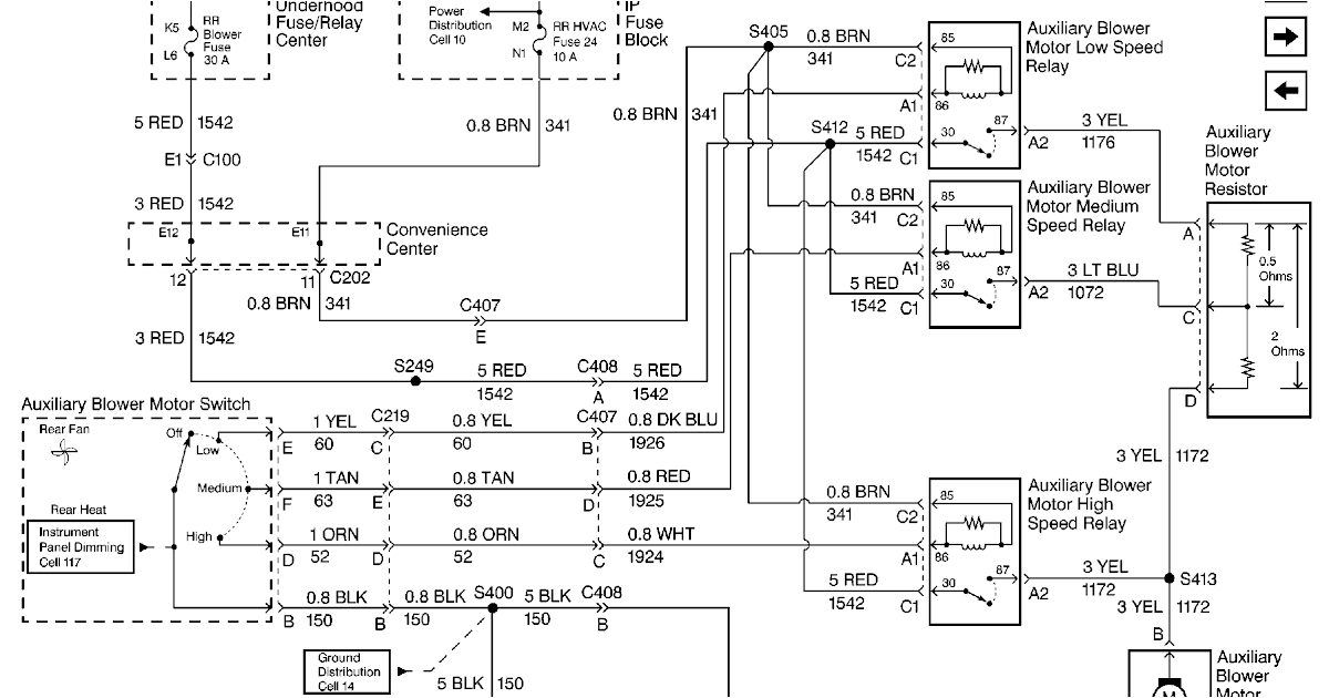 stereo wiring diagram for 2003 chevy