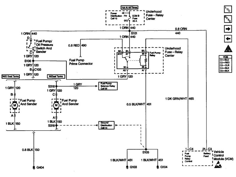 dodge ram 1500 fuel pump wiring diagram