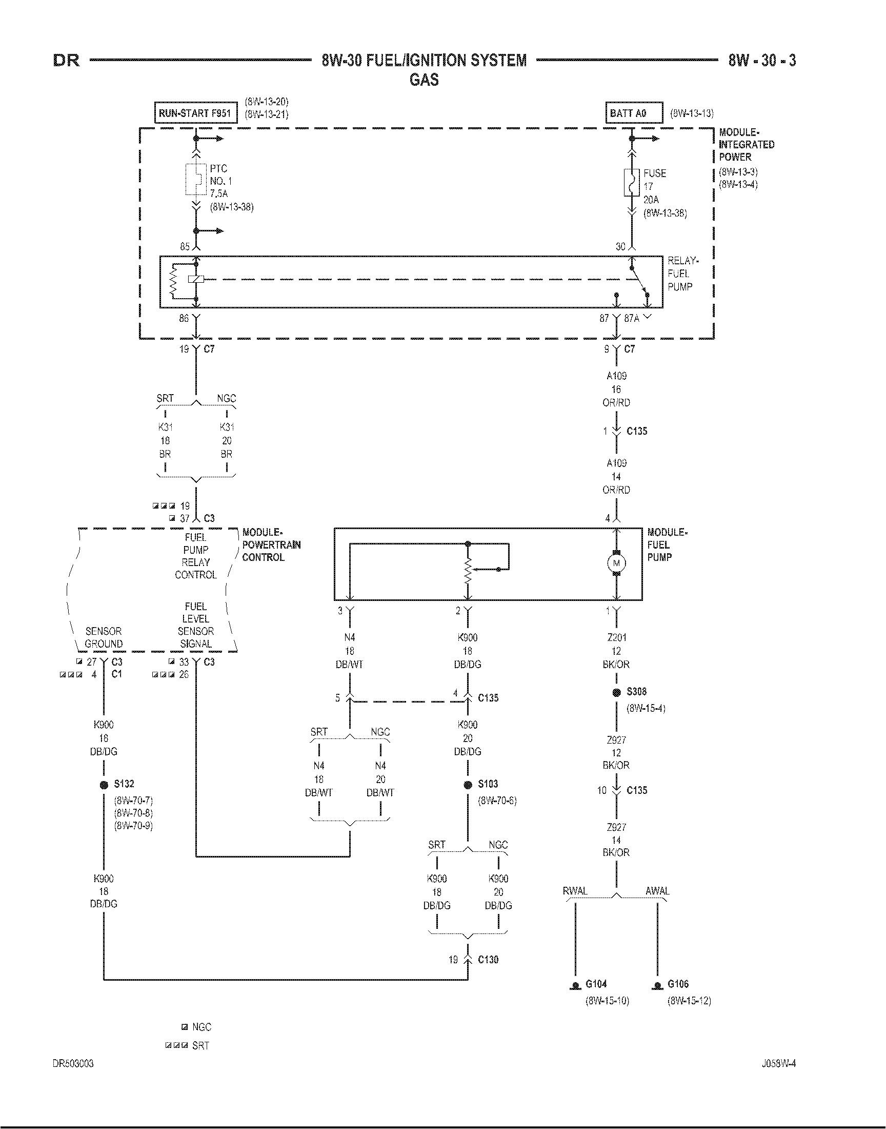 2007 Dodge Ram Fuel Pump Wiring Diagram Ijnition Wiring Diagram for 2007 Dodge Ramtruck