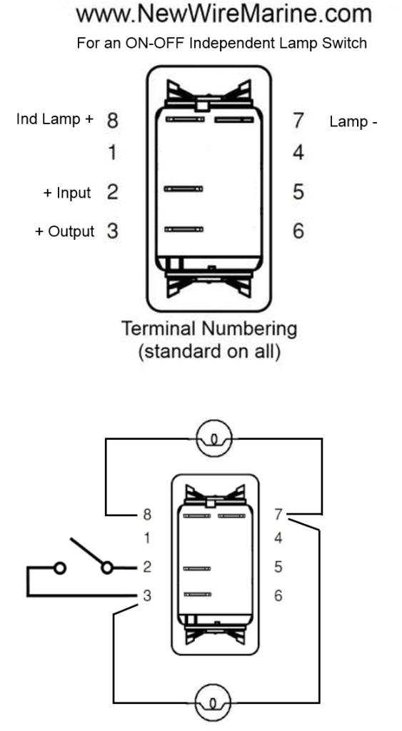 32 4 prong rocker switch wiring diagram