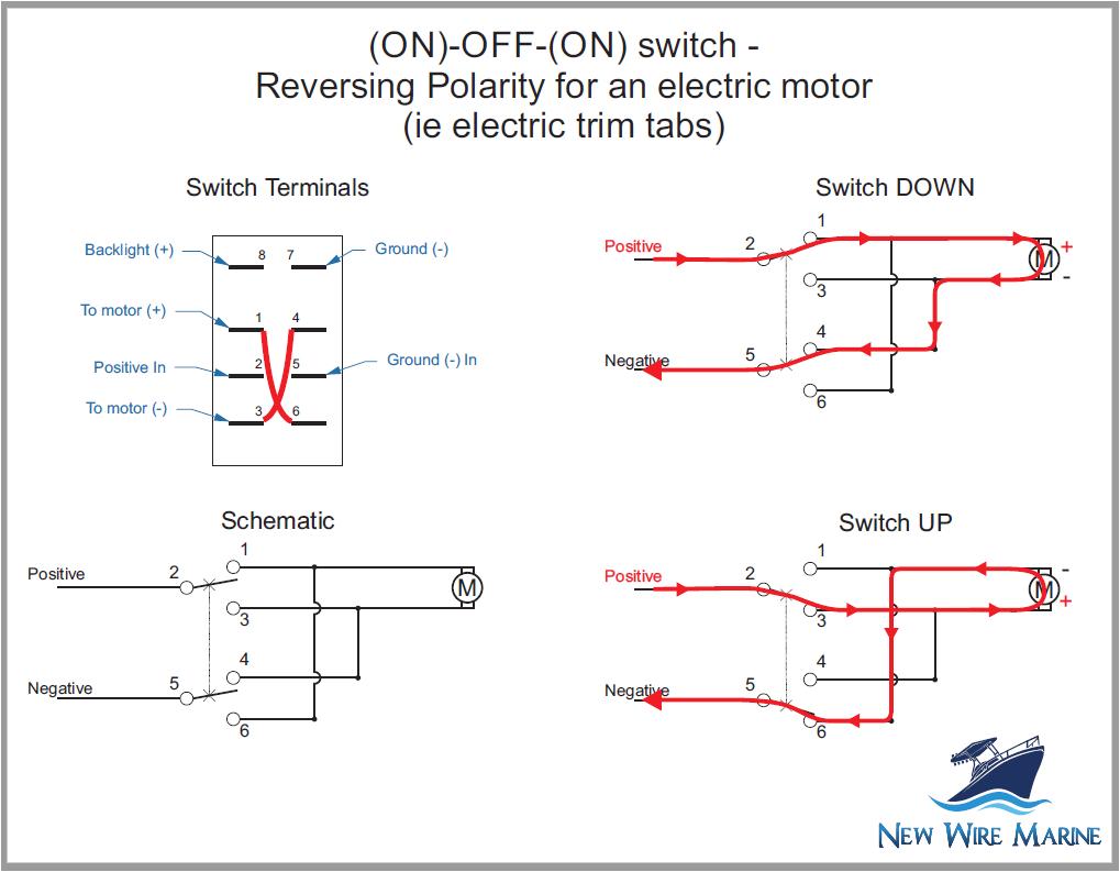 lighted 4 pin rocker switch wiring diagram