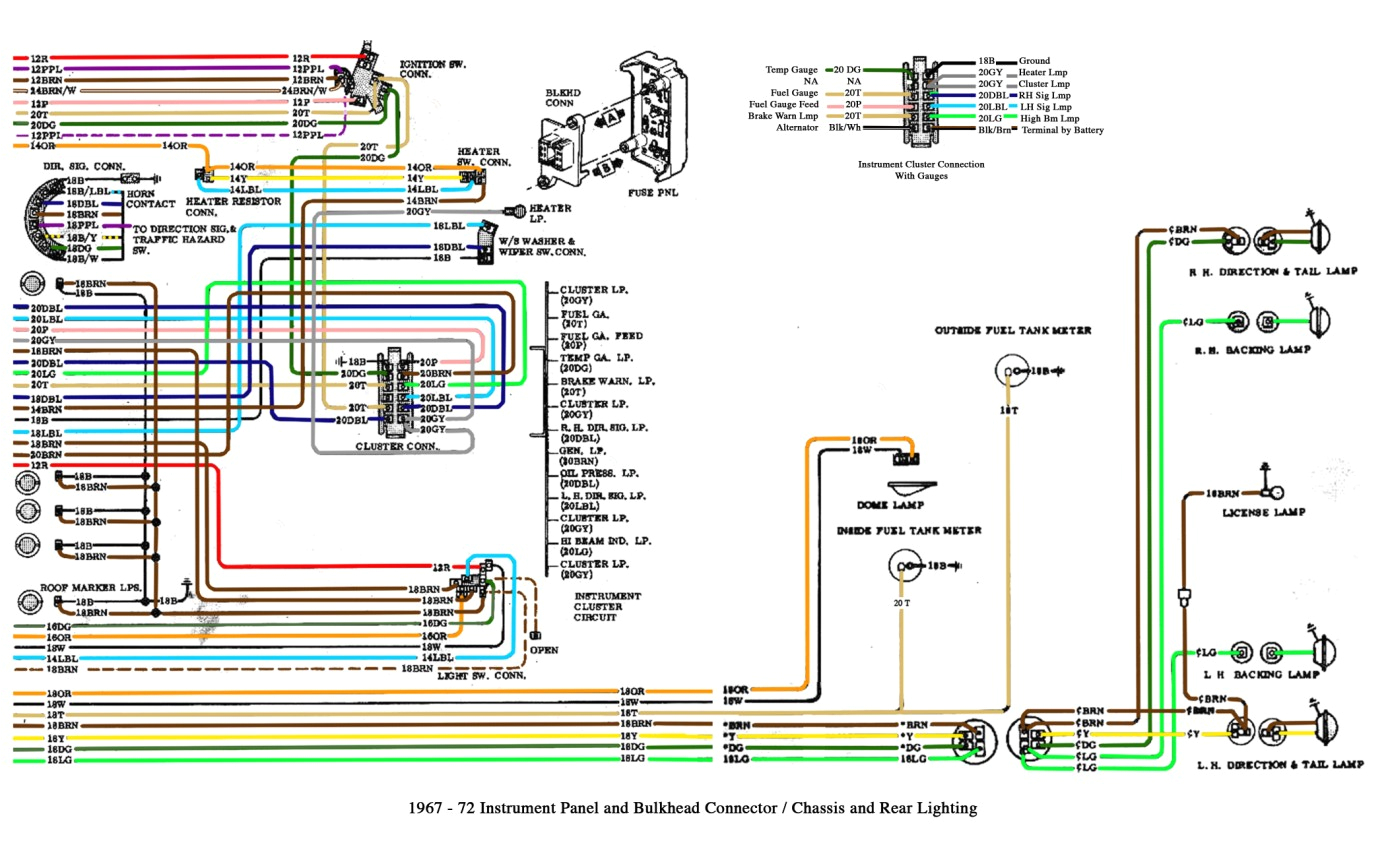 chevy trailer plug wiring diagram