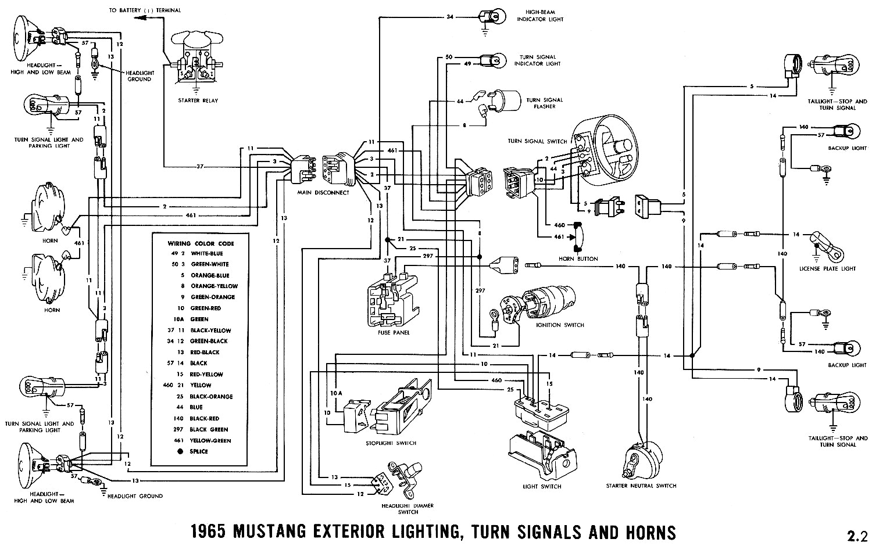 1965 mustang light switch wiring diagram